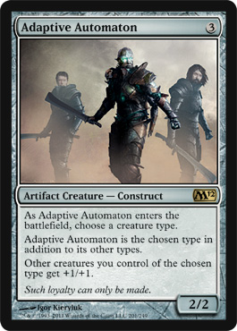 Adaptive Automaton | Magic: The Gathering Card