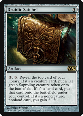 Druidic Satchel | Magic: The Gathering Card