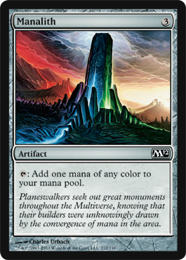 Manalith | Magic: The Gathering Card
