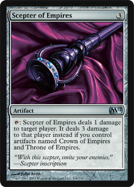 Scepter of Empires | Magic: The Gathering Card