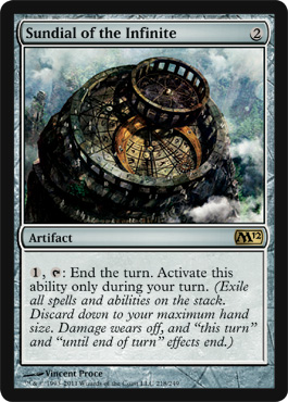 Sundial of the Infinite | Magic: The Gathering Card