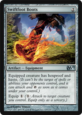 Swiftfoot Boots | Magic: The Gathering Card