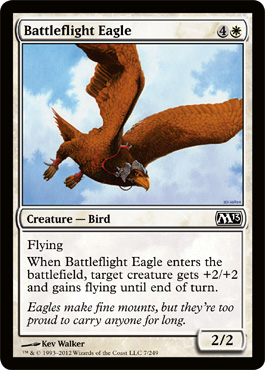 Battleflight Eagle | Magic: The Gathering Card