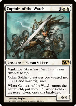 Captain of the Watch | Magic: The Gathering Card