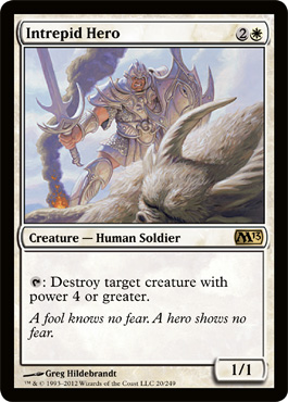 Intrepid Hero | Magic: The Gathering Card