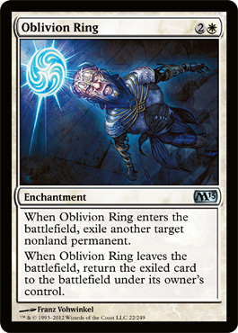 Oblivion Ring | Magic: The Gathering Card