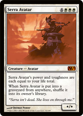 Serra Avatar | Magic: The Gathering Card