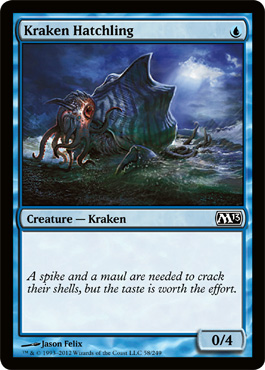 Kraken Hatchling | Magic: The Gathering Card