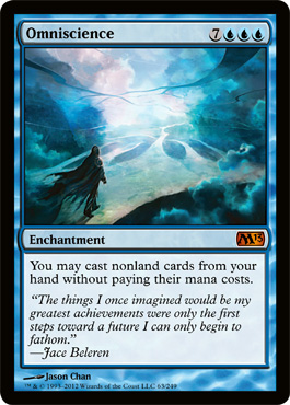 Omniscience | Magic: The Gathering Card