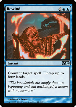 Rewind | Magic: The Gathering Card