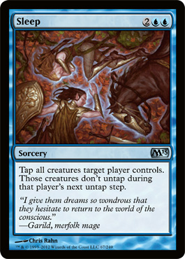 Sleep | Magic: The Gathering Card
