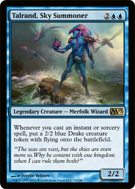 Talrand, Sky Summoner | Magic: The Gathering Card