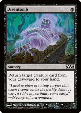 Disentomb | Magic: The Gathering Card