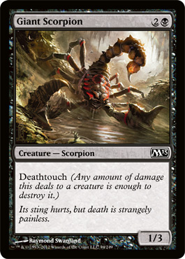 Giant Scorpion | Magic: The Gathering Card