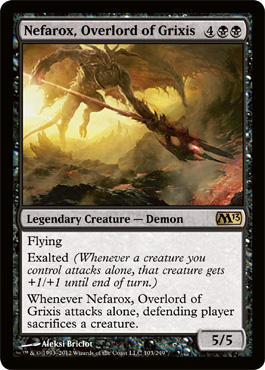 Nefarox, Overlord of Grixis | Magic: The Gathering Card