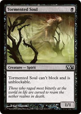 Tormented Soul | Magic: The Gathering Card