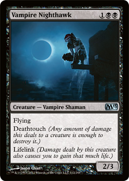 Vampire Nighthawk | Magic: The Gathering Card