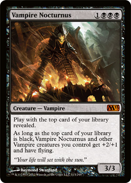 Vampire Nocturnus | Magic: The Gathering Card