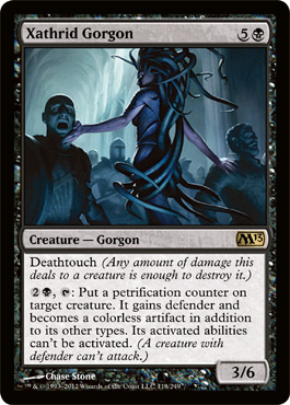 Xathrid Gorgon | Magic: The Gathering Card