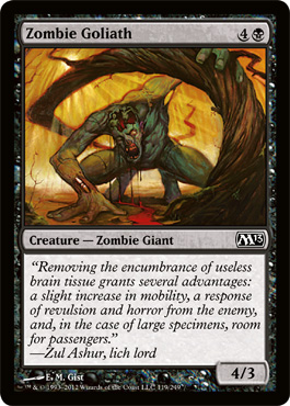 Zombie Goliath | Magic: The Gathering Card
