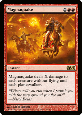 Magmaquake | Magic: The Gathering Card