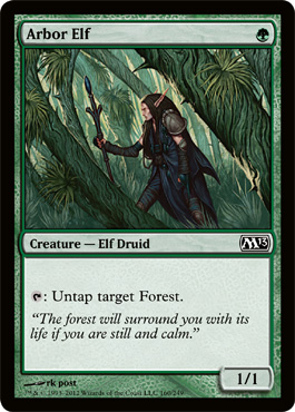 Arbor Elf | Magic: The Gathering Card