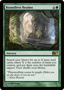 Boundless Realms | Magic: The Gathering Card