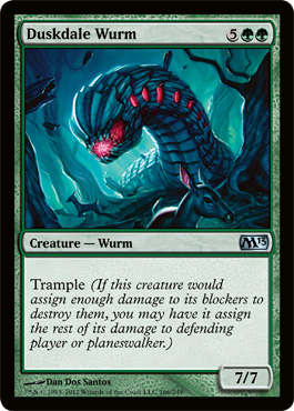 Duskdale Wurm | Magic: The Gathering Card