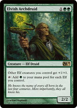 Elvish Archdruid | Magic: The Gathering Card