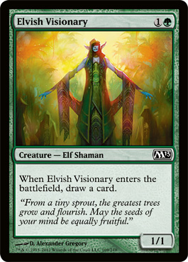 Elvish Visionary | Magic: The Gathering Card