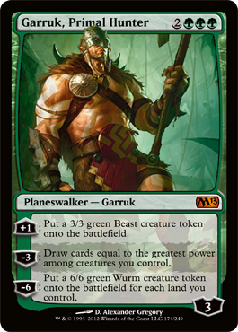 Garruk, Primal Hunter | Magic: The Gathering Card