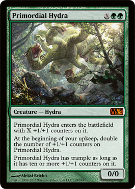 Primordial Hydra | Magic: The Gathering Card