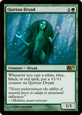 Quirion Dryad | Magic: The Gathering Card