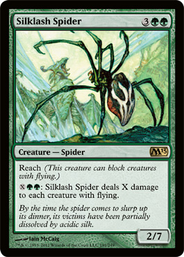 Silklash Spider | Magic: The Gathering Card