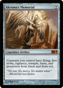 Akroma's Memorial | Magic: The Gathering Card