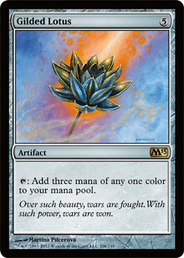 Gilded Lotus | Magic: The Gathering Card