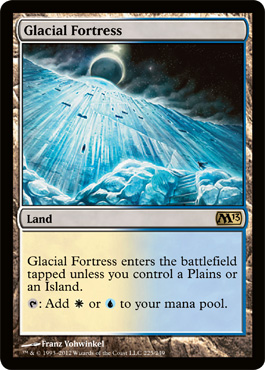 Glacial Fortress | Magic: The Gathering Card
