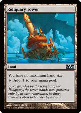 Reliquary Tower | Magic: The Gathering Card