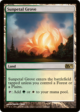 Sunpetal Grove | Magic: The Gathering Card