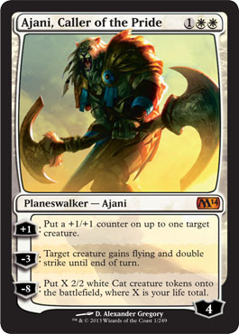 Ajani, Caller of the Pride in Magic 2014 Core Set