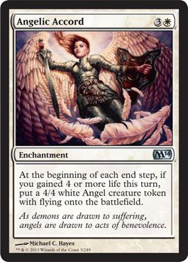 Angelic Accord | Magic: The Gathering Card