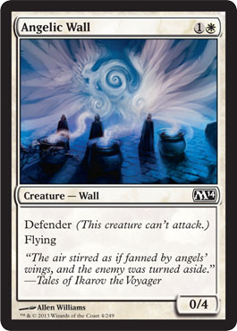 Angelic Wall | Magic: The Gathering Card
