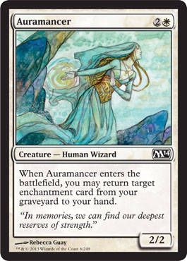 Auramancer | Magic: The Gathering Card