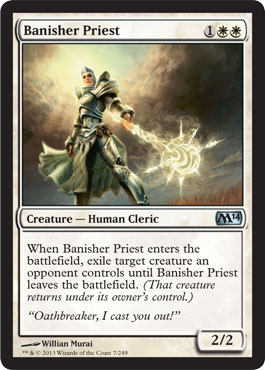 Banisher Priest | Magic: The Gathering Card
