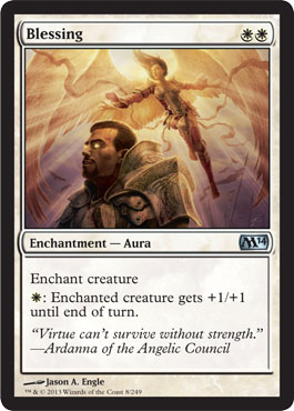 Blessing | Magic: The Gathering Card