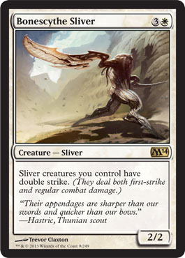 Bonescythe Sliver | Magic: The Gathering Card