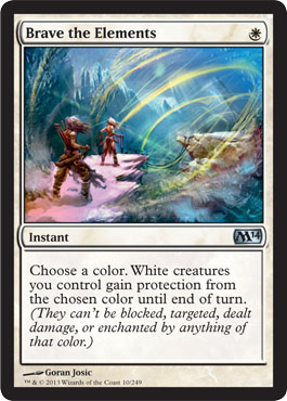 Brave the Elements | Magic: The Gathering Card