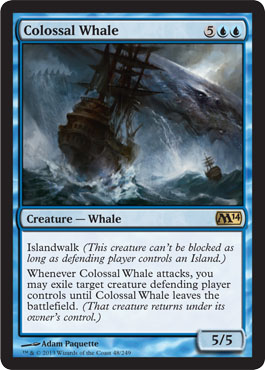 Colossal Whale | Magic: The Gathering Card
