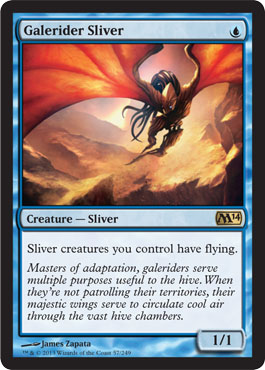 Galerider Sliver | Magic: The Gathering Card