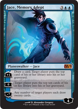 Jace, Memory Adept in Magic 2014 Core Set
